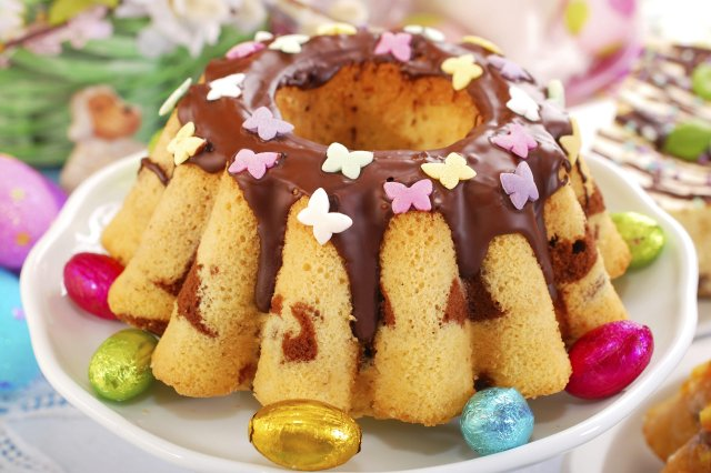 Easter Simple Cake