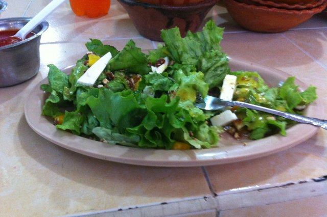 Salad with Mustard and Honey
