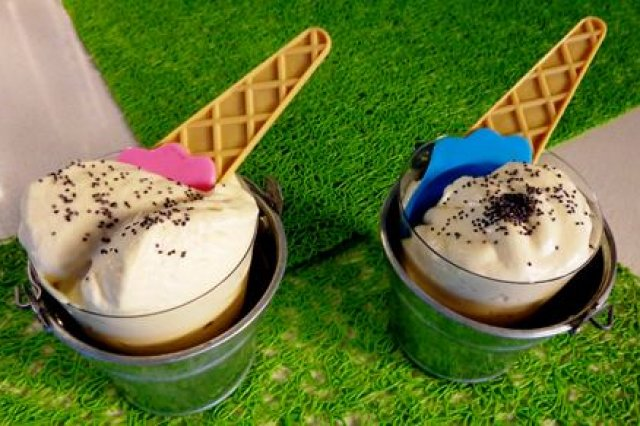 Helado de Chocolate Blanco con Crema de Whisky