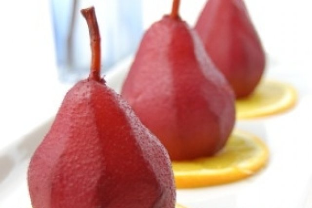 Pears to Red Wine Express