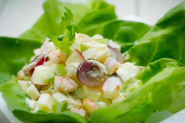 Shrimp Waldorf Salad