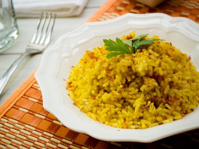 Receta de Arroz con Curry