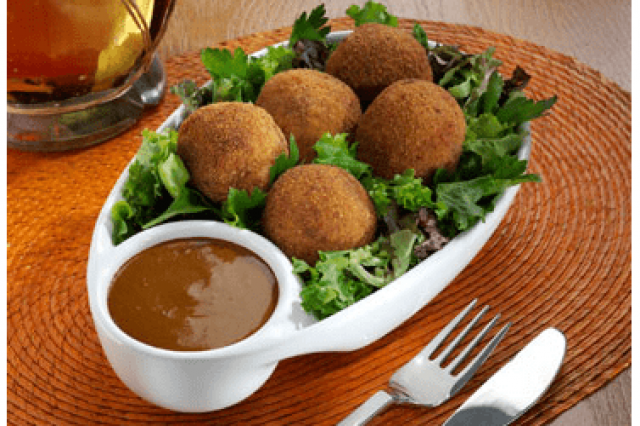 Tuna Croquettes with Chipotle Sauce