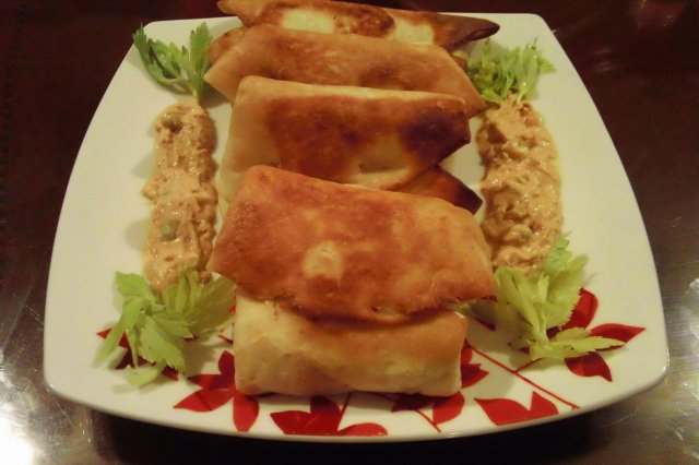 Fried Tuna rolls