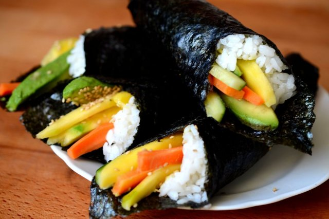 Vegetable Temakis