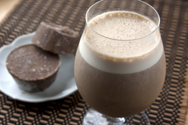 Chocolate Smoothie with Coffee