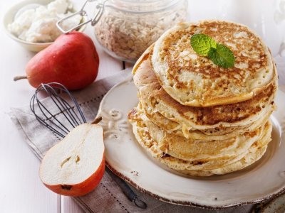 Receta de Hot Cakes Integrales