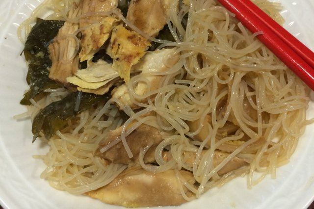 Chinese Noodle with Chicken