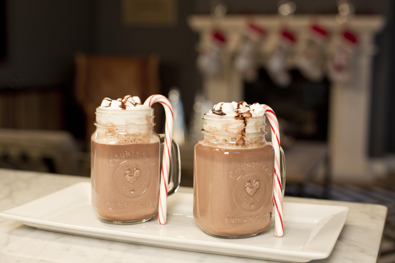 chocolate caliente para navidad