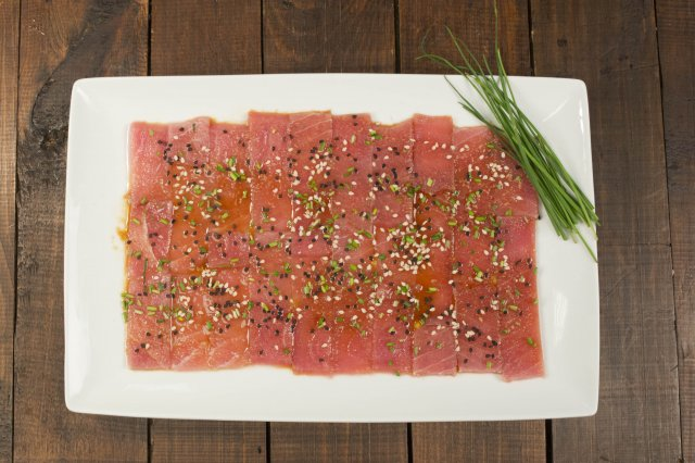 Tuna Sashimi with Soy