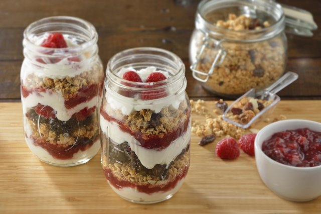 Fruit Cup with Compote and Yoghurt FAGE Total® 0%