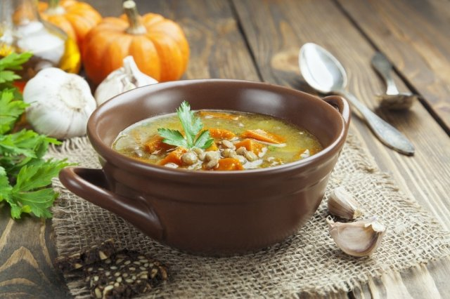 Lentil and Pea Soup
