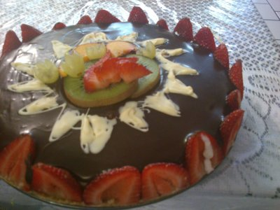 Receta de Pay de 2 chocolates (sin horno)