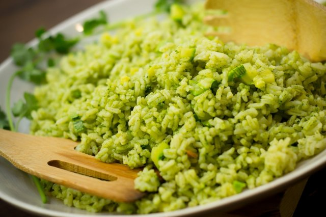 Coriander Rice with McCormick® Chicken Broth