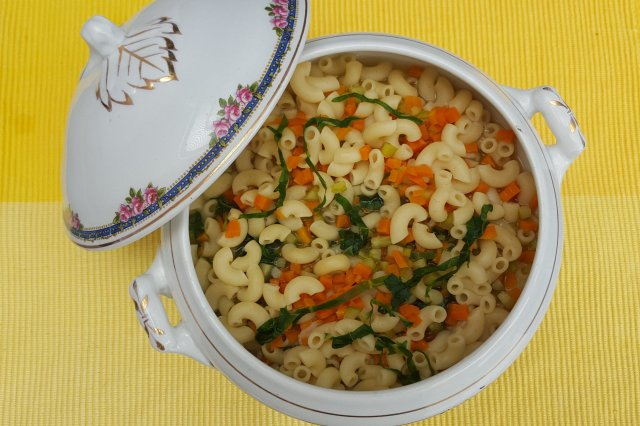 Soup of Coditos with Vegetables