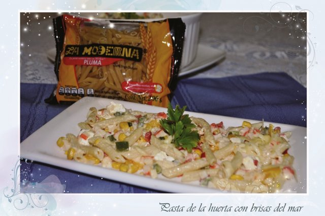 Pasta de la Huerta with Brisas del Mar
