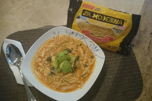 Noodles with Chipotle and Chicken