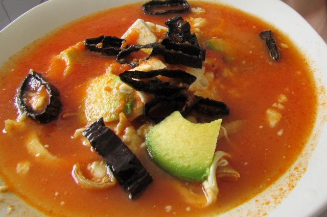 Rich Tortilla Soup