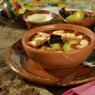 Original Aztec soup