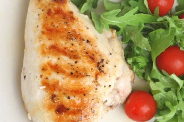 Chicken with Parmesan and Parsley