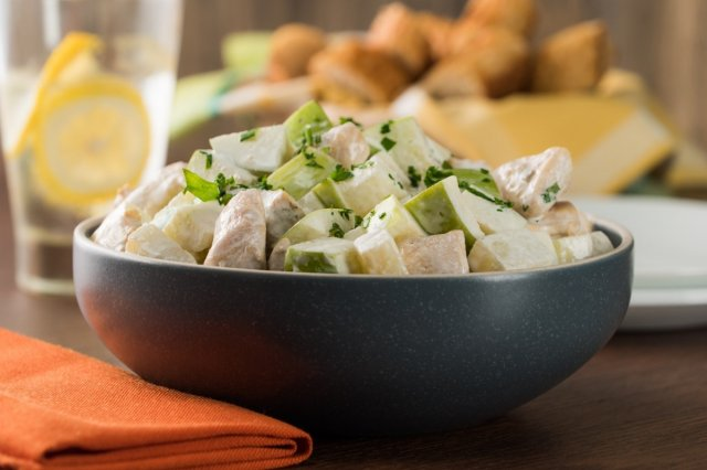 Creamy Chicken, Potato and Apple Salad