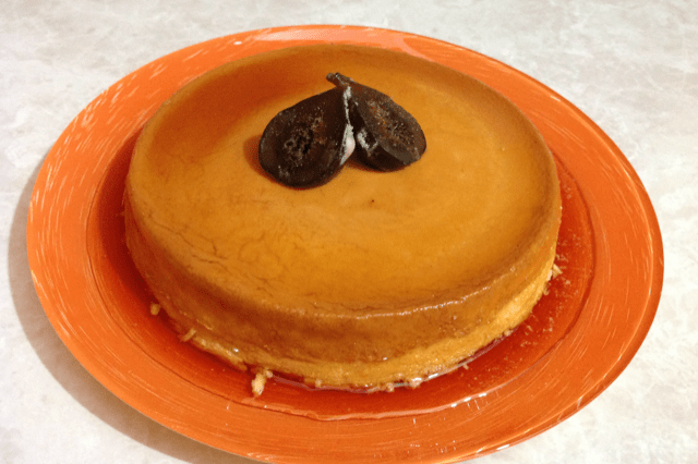 Napolitano Flan with Cream Cheese