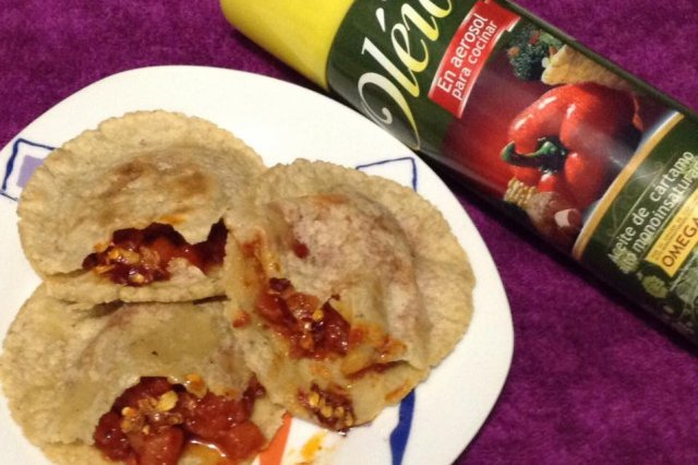 Gorditas de Chorizo ​​with Potatoes