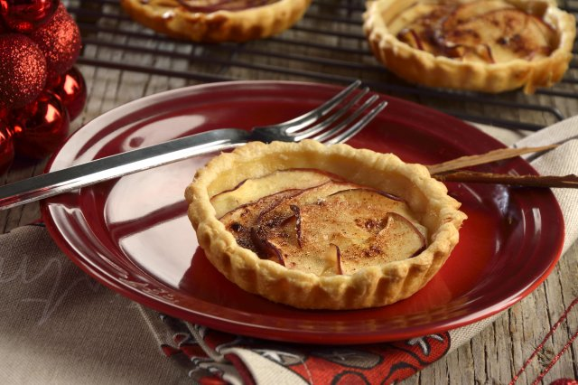 Tartlets of Apple with Yoghurt