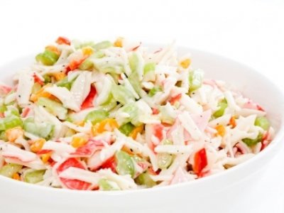 Ensalada de Langosta con Mayonesa Light