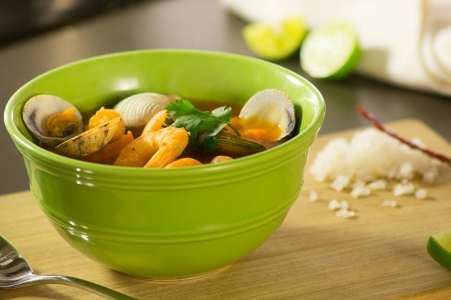 Shrimp and Clam Broth