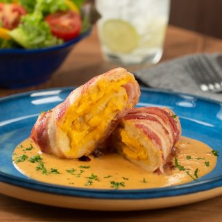 Stuffed Chicken Breasts in Chipotle Sauce
