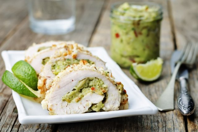 Stuffed Chicken Breast of Guacamole