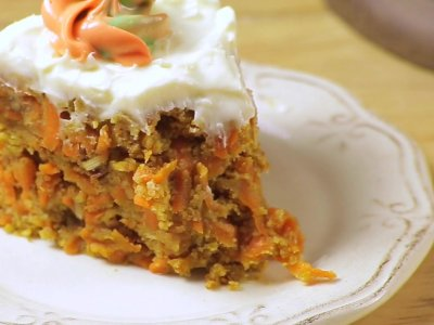 No Bake Carrot Cake
