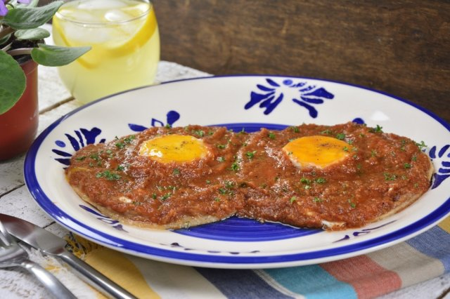 Homemade Huevos Rancheros