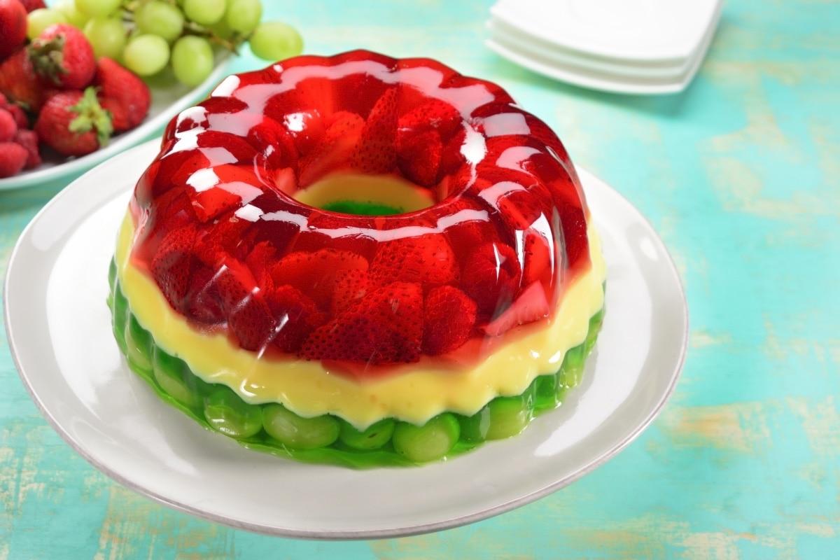 Торт желе в картинках