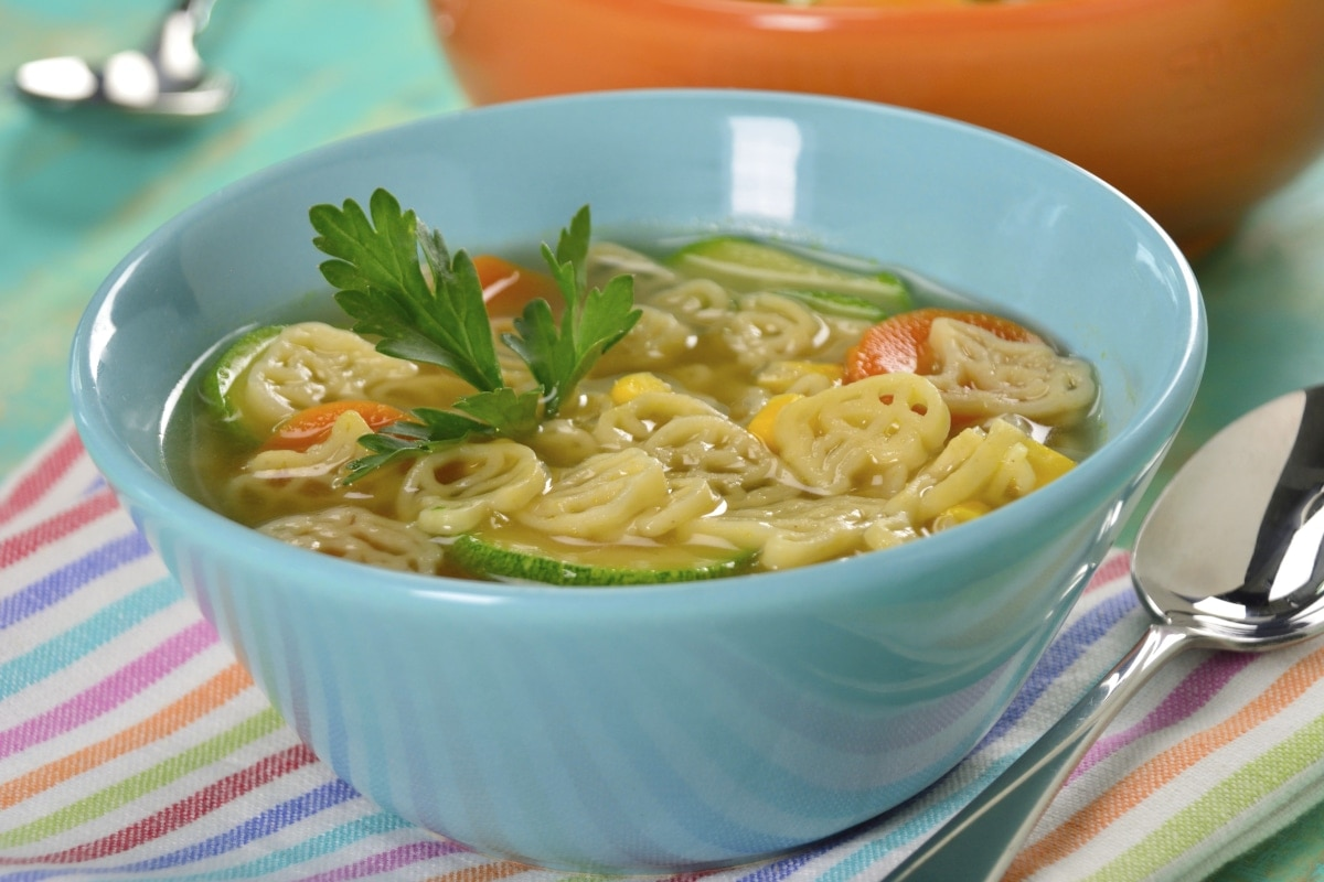 Receta de sopa a la mantequilla con vegetales asados - Cocina facil para sorprender ...