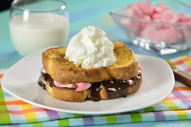 French bread with S'mores