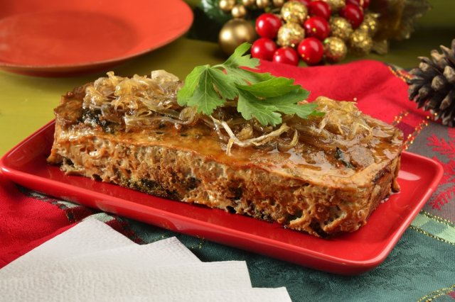 Meatloaf for Christmas