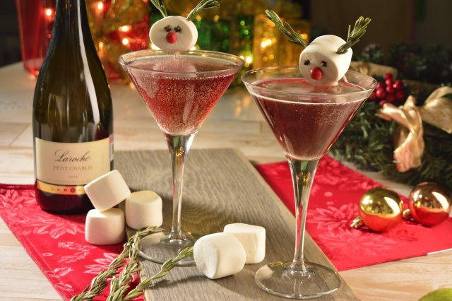 Christmas Cranberry Fizz