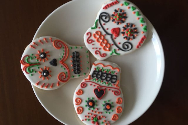 Galletas Decoradas de Calaverita