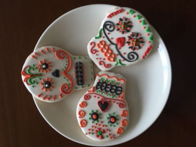 Receta de Galletas Decoradas de Calaverita