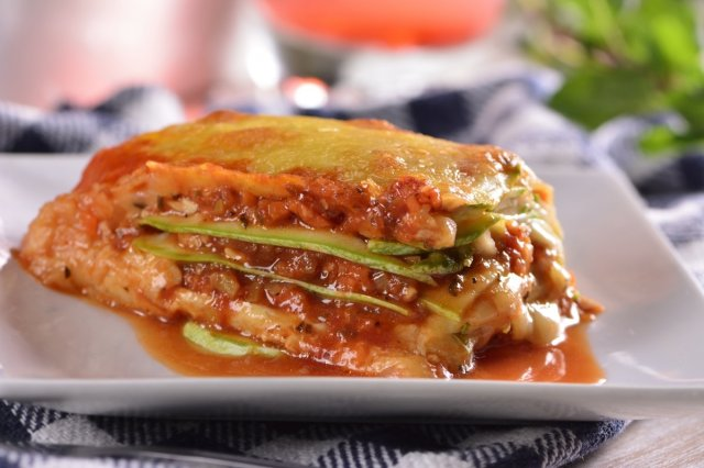Manchego Cheese and Pumpkin Lasagna
