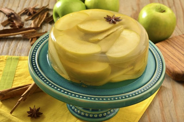 Jelly with Apple