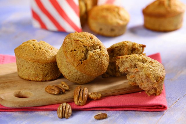 Whole Carrot Muffins
