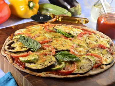 Receta de Pizza Integral de Ratatouille