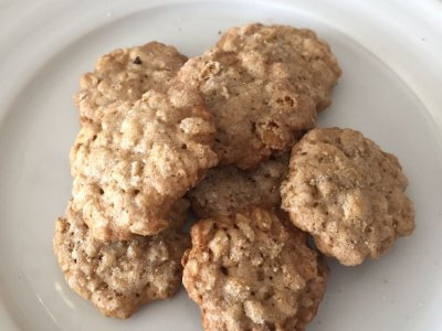 Mini Galletas de Avena Crujientes