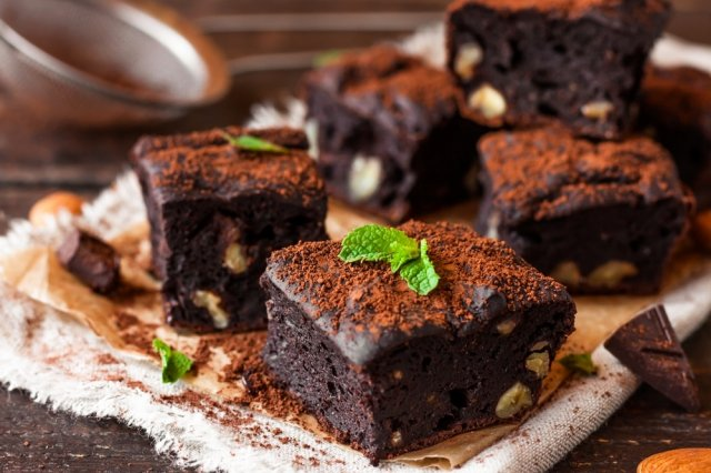Vegetarian Beans Brownies