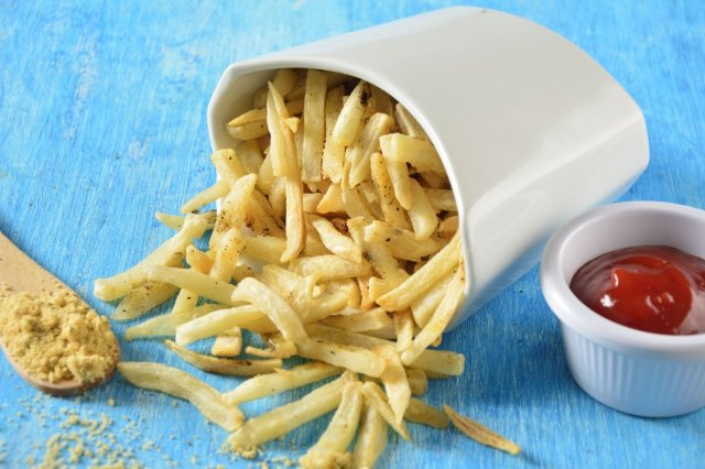 French Fries with Lemon Pepper