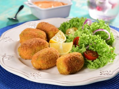 Broccoli and Carrot Croquettes