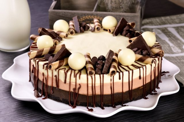 Cheesecake de 3 Chocolates